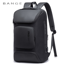 Travel-Bag Mochila BANGE Usb-Charging-Backpack Large-Capacity Oxford Fashion Male Wear-Resistant