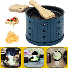 Stove-Set Grill-Plate Baking-Tool Oven Candle Cheese Rotaster-Tray Slow Non-Stick Kitchen