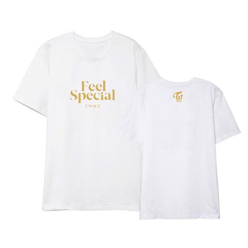 Unisex BTS Logo T-Shirts Kpop Bangtan Boys Fan Cheer Tops BT21 Print Short Sleeve Shirt