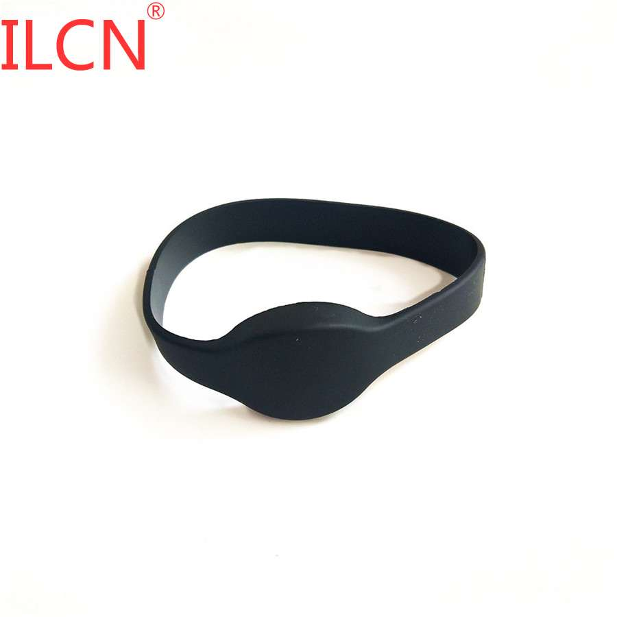 125KHz ID RFID Only Read Waterproof Wristband Smart Tag Keyfob Proximity EM4100 Bracelet Tag 65mm For Access Control Card 1pcs