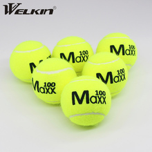Rubber Training Tennis for Beginner High-Quality Suitable 6pcs School-Club Youth Adult