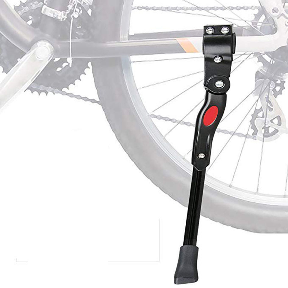 MTB Road Bike Side Kickstand Bicycle Adjustable Alloy Stand Side Kick
