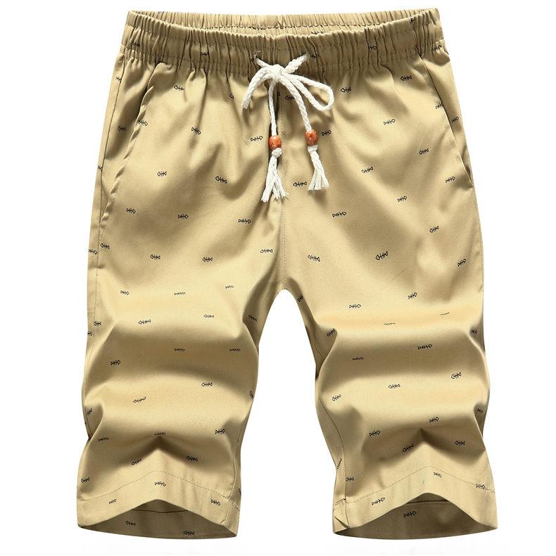 5Colors Men's Shorts Summer Casual Cargo Shorts Cotton Male Beach Short Pants Homme Bermuda Masculina Plus Size 5XL Boardshorts 1