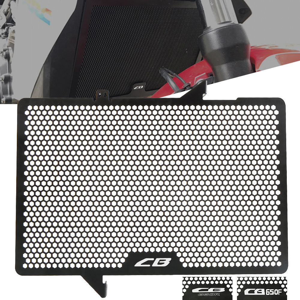 BGGZZG Radiator Grille Grill//Fit for Hond.A CB 650R 650 R 2019 2020 CB650R Neo Sports Cafe Motorcycle Radiador de Aluminio Protector de protecci/ón de la Parrilla Parrilla Color : CB650R Logo