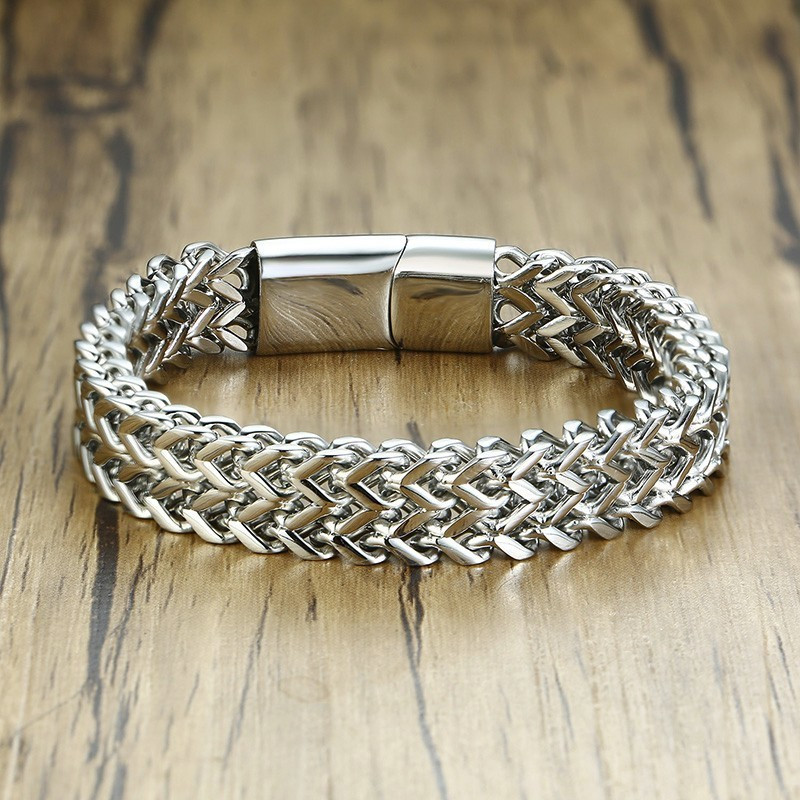 Vnox-Punk-12-5mm-Wave-Link-Chain-Bracelets-for-Men-Silver-Stainless-Steel-Never-Fade-Wristband (1)