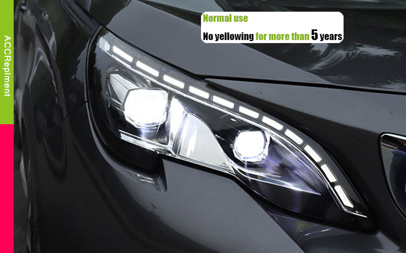 Peugeot 3008 H7 501 55w Super Blanco Xenon Hid low//led comercio Laterales Bombillos Set