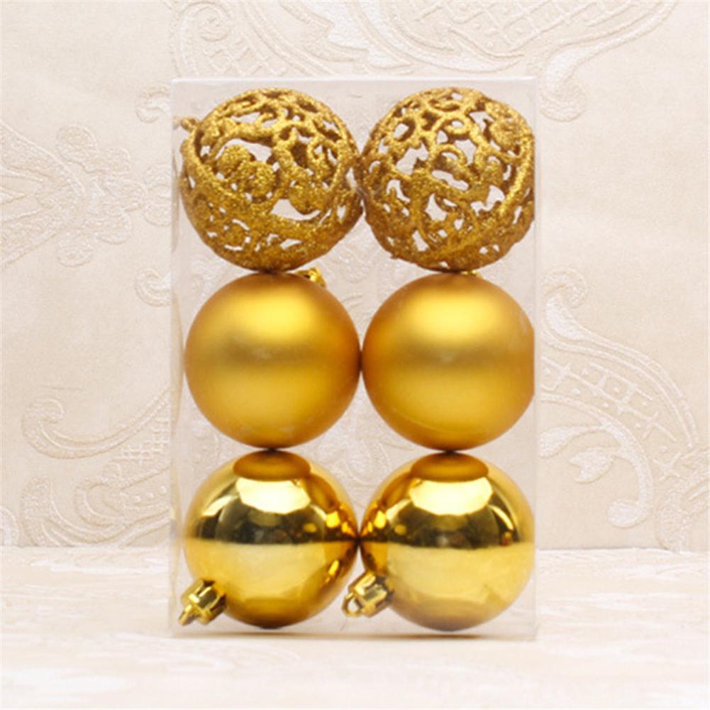 Gold #cw 24pcs Snowflakes Christmas Tree Decor Plastic Glitter Snow Flake