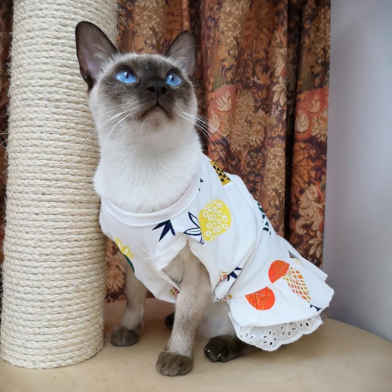 Pink S. Triamisu Fr/ühling Sommer Haustier Hund Kleid Kleidung mit gro/ßen Sonnenblume niedlichen Prinzessin Rock Hochzeit Ballkleid Partykleid Haustierzubeh/ör