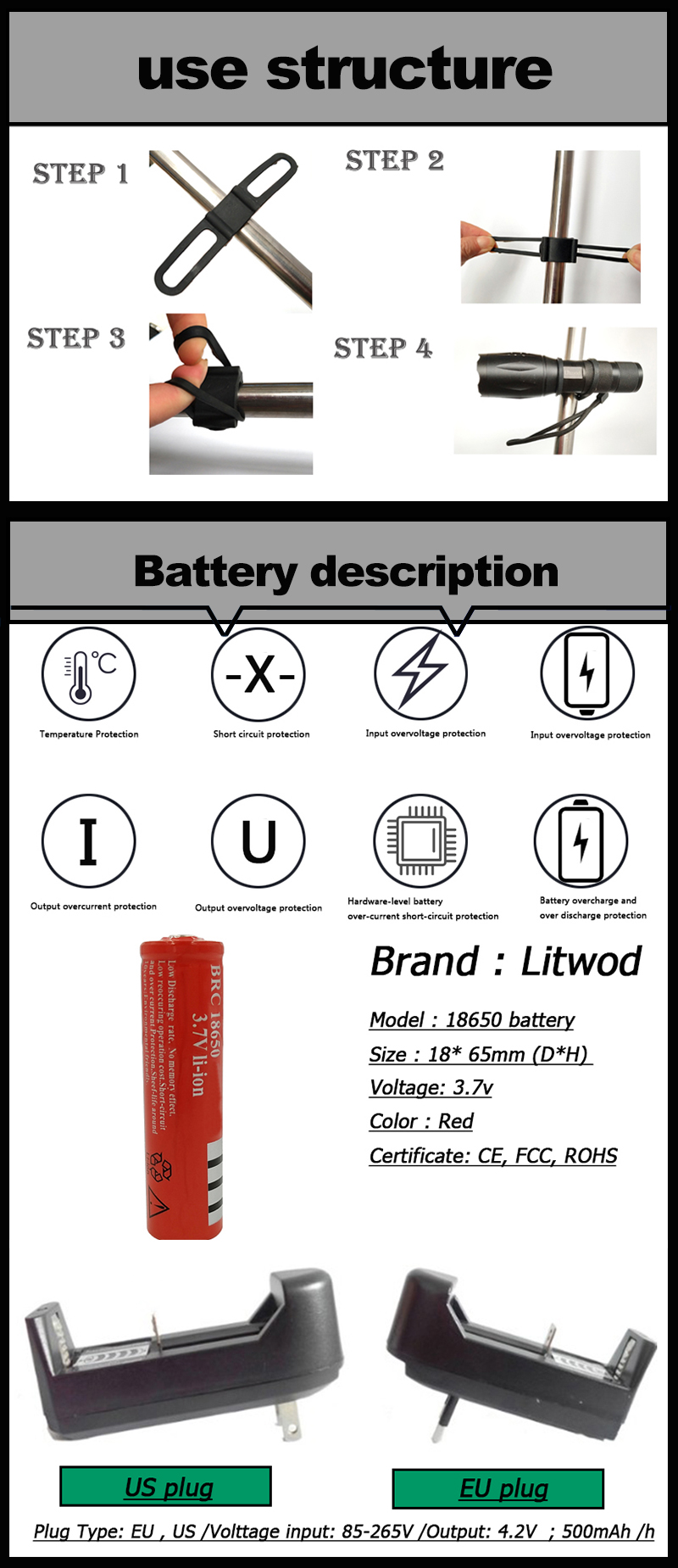 battery and use structure-黑白风