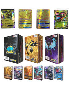 Album-Book Trading-Cards Cartes Mewtwo Tomy-Toys Battle Pokemons TAKARA Anime 100pcs