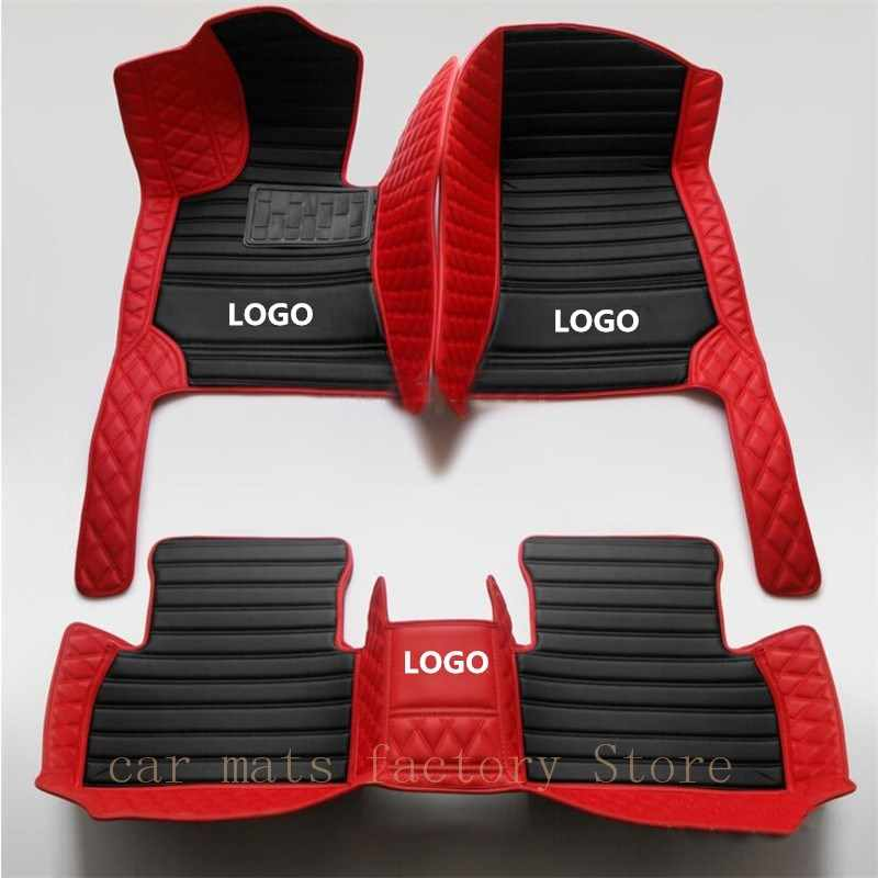Car Floor Mat for BMW all models of splice car floor mat Accessories e30 e34 e36 e39 e46 e60 e90 f10 f30 x1 x3 x4 x5 x6 1/2/3/4