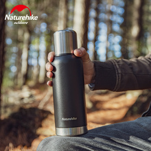 Vacuum-Cup Heat-Preservation Naturehike 304-Stainless-Steel Portable 1000ml 24-Hour Big-Capacity