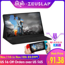 ZEUSLAP Hd Monitor Laptop-Phone Xbox-Switch Thin Portable Lcd Hdmi for And Ps4 Usb-Type