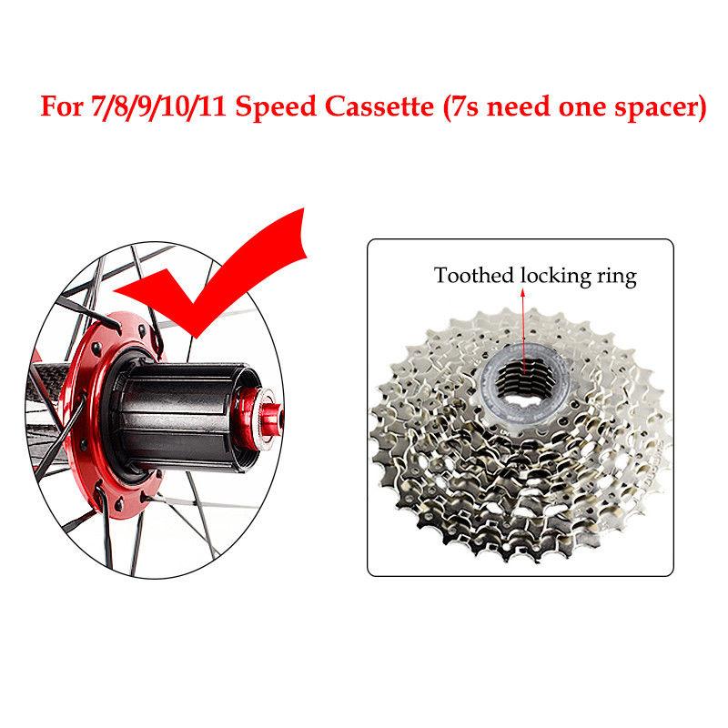 RXR 700C Bike Wheelset Carbon Hub Road Bike Bicycle F&R Wheels Wheelset Clincher Sealed Bearings 7-11 Speed V Brake (10)