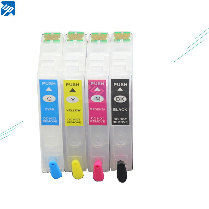 UP Ink-Cartridges Auto-Reset T02W1 T502XL XP-5100 Epson Chips Refillable Printer  title=