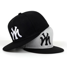 Snapback-Caps Baseball-Cap Flat-Hats Embroidery Hip-Hop Adjustable My-Letter Cotton Outdoor