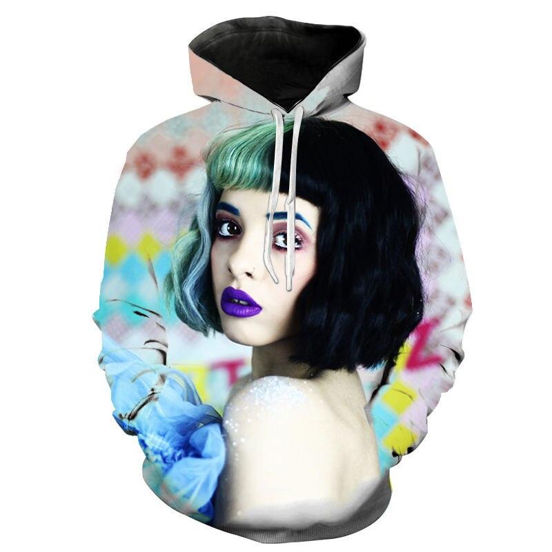 Melanie Martinez Hoodies Women Long Sleeve Hooded Sweatshirts Mens Hoodie Harajuku Casual Streetwear Unisex Clothes Oversized