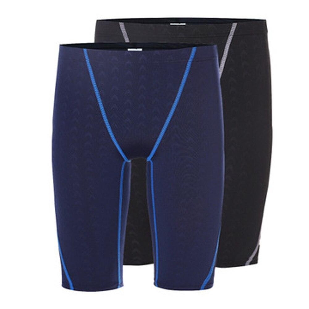 Water Repellent Shark Skin Jammer Swimsuit Men/'s Competitive Racing Sport Swimming Shorts Swim Brief Trunks Boxers Men Swimwear