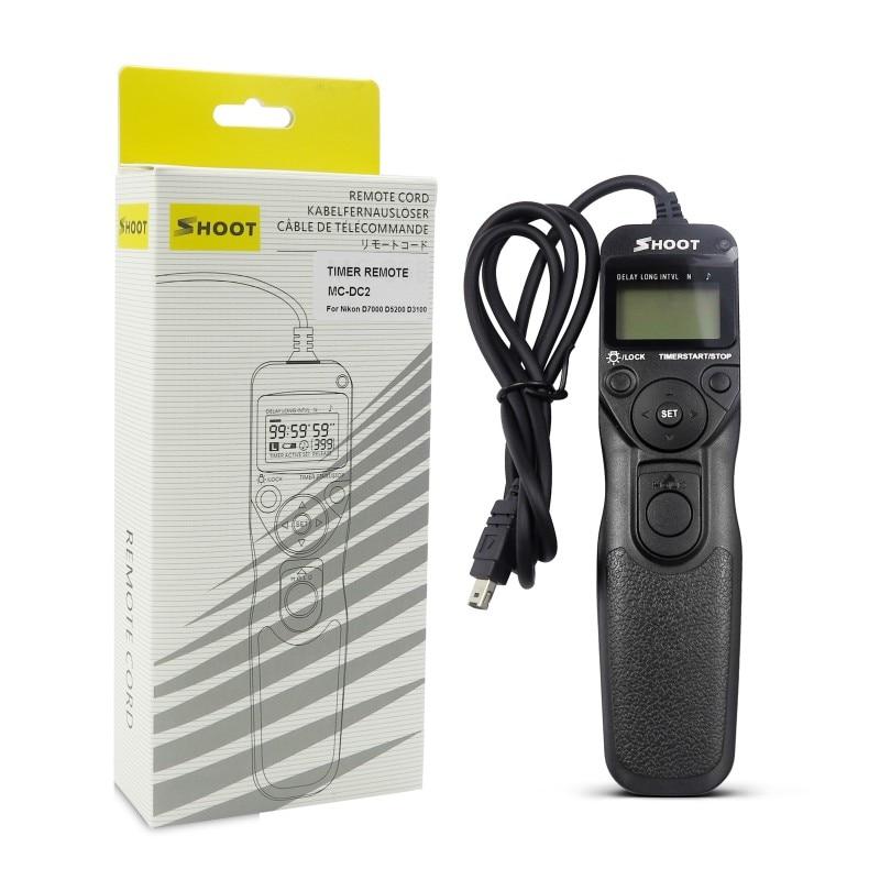 Cable Disparador Remoto para Nikon Dslrs Mc-Dc2 Compatible con Cerradura