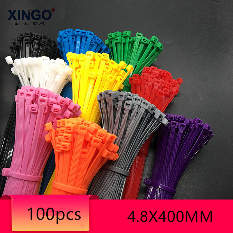 Pack Of 200 Cable TiesCable Tie WrapsColoured Cable Ties 200mm X 4.8mm