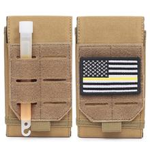 Utility Pouch Wallet Waist-Belt-Bag Pocket Phone-Case Airsoft Tactical-Molle Hunting