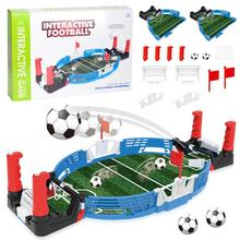 Two-Player Mini Tabletop Soccer Footbal Game Balls Home Machine Babyfoot Finger Sports Toy Party Double Battle Puzzle Board Game