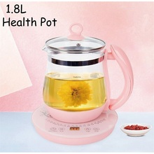 Pot Teapot Boiling Smart-Health-Pot Heating-Insulation Automatic-Glass Water-Flower Household