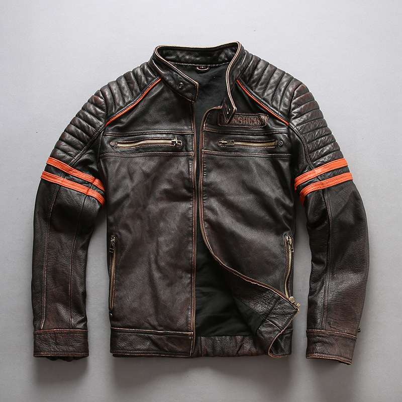 Factory--New-Men-3D-Skull-Motorcycle-Genuine-Leather-Jacket-100-Real-Soft-Cowhide-Slim-fit (2)