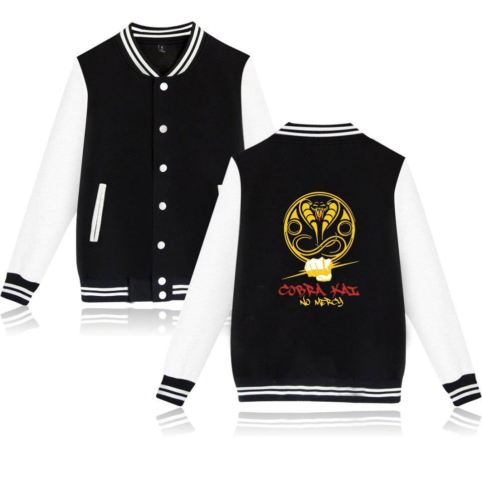 Cobra Kay Patchwork Appliques Casual Baseball Uniform Coat Male  Jacket Men Military New Top 2019