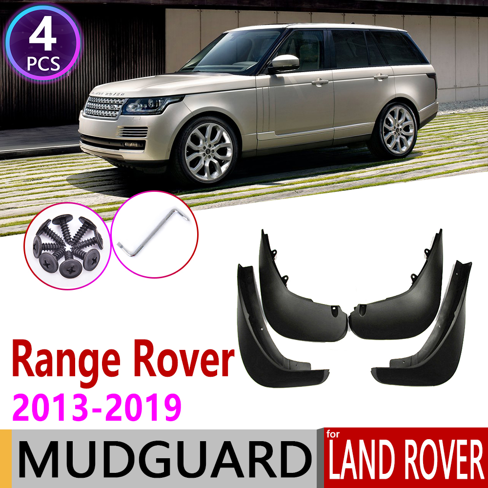 Set Of 4 Mud Flap Splash Guards For 14-18 Land Rover Range Rover Sport 3.0L 5.0L