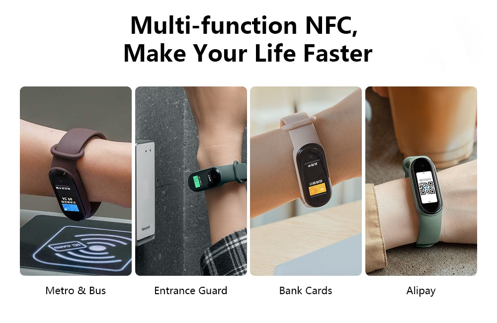 Xiaomi Mi Band 5 Chinese NFC Version - Black Chinese NFC Version
