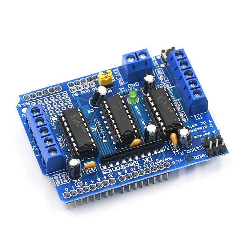 Wireless L293D Stepper Proto Motor Shield for Arduino IDE XBee Stervo Controller