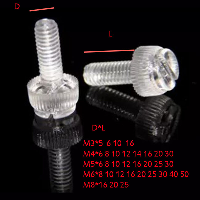 Thickness L=4mm 10X Plastic SPACERS M6 Thickness 2MM to 30MM ID 6MM OD 10MM WASHERS Screw Tube Black Universal