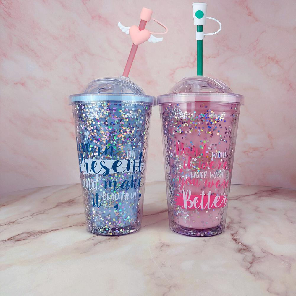 Cover Reusable Drinking Dust Cap Straw Tips Cup Accessories Silicone Straw Plug