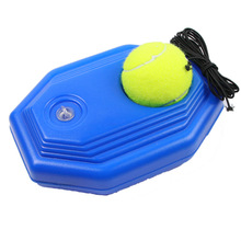 Supply Aids-Ball-Trainer Tennis-Supplies Rope-Base Practice-Tool with Elastic Baseboard-Player