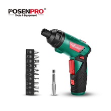 Power-Gun-Tool Electric-Screwdriver Cordless LANNERET Household Lithium-Ion Multifunction