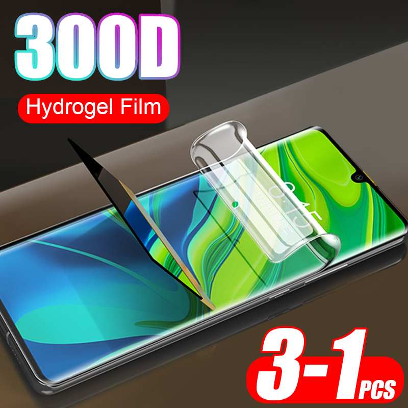 Hydrogel-Film Full-Screen-Protector Lite Not-Glass Pocophone F1 CC9E Xiaomi Note-10 300D title=