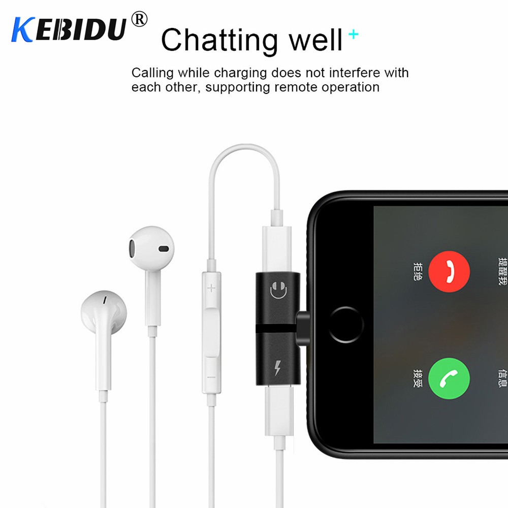 Audio-Adapter Earphone Aux-Cable Music-Charger X-Charging/audio 8-Plus for 7 To 4-In-1 title=