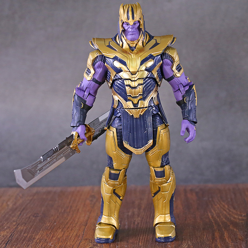 "Armored Thanos Avengers Endgame 2019 Marvel 8/"" Action Figure Toy Collection"