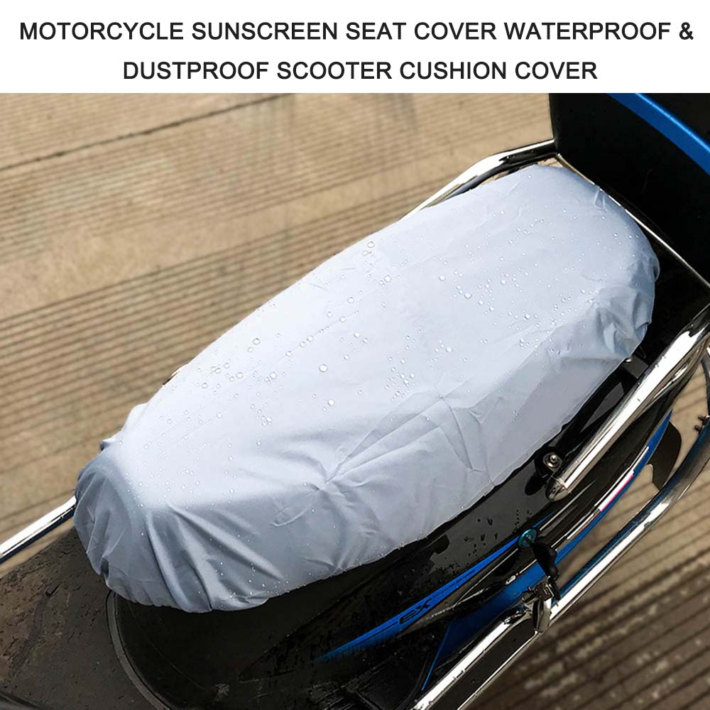 Cap Cushion-Cover Seat-Scooter Motorcycle Waterproof Sunscreen Protector Sun-Pad Universal title=
