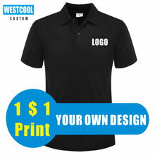 WESTCOOL Summer Casual Men And Women Short-Sleeved Polo Shirts Custom Logo Embroidery Printing Personalized Design Tops