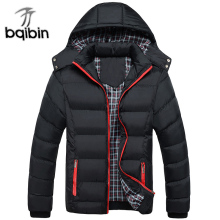 Outerwear Coats Padded Jacket Parkas Warm Thick Quality Men Winter Casual Cotton New