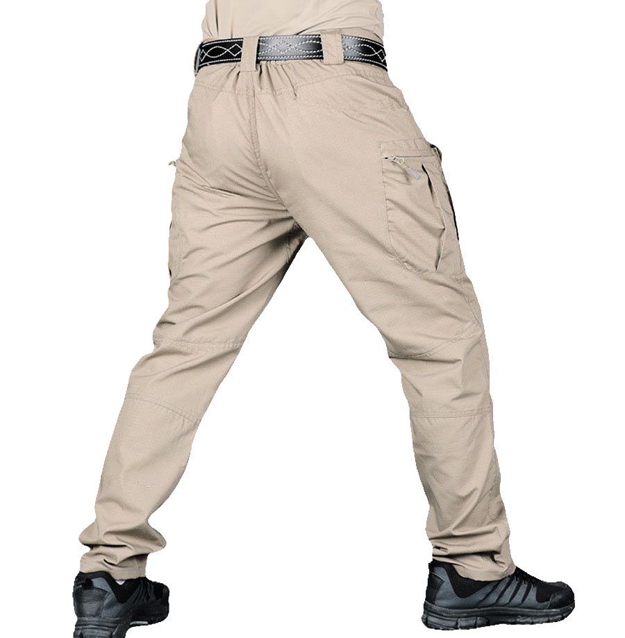 New Mens Tactical Pants Multiple Pocket Military Urban Commuter Tooling Trousers Men Outdoor Streetwear Cargo Pant
