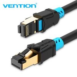 Vention Ethernet кабель CAT6 Lan кабель RJ45 кабель для коммутационных шнуров экранированный витой сети Ethernet для компьютерный маршрутизатор кабель Ethernet