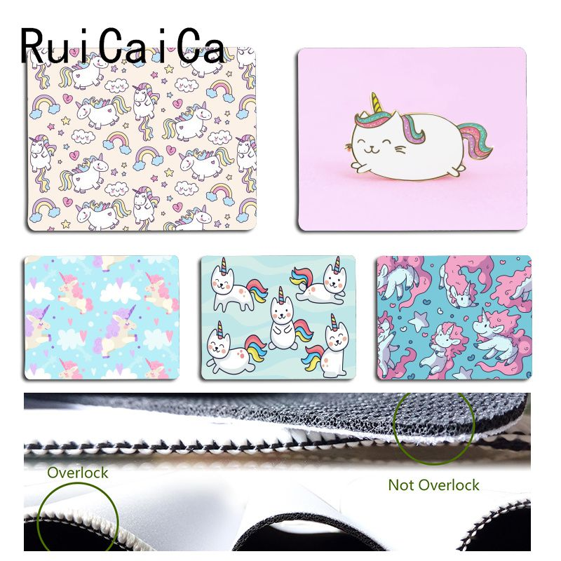 Ruicaica Mousepads-Size Unicorn Rubber Anime Keyboard Gaming Custom Skin Cat Cute Maiyaca title=