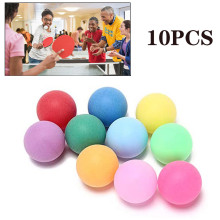 Entertainment Pong-Balls Colored Training 40mm Sports-Ball-Accessories Professional 10pcs/Pack