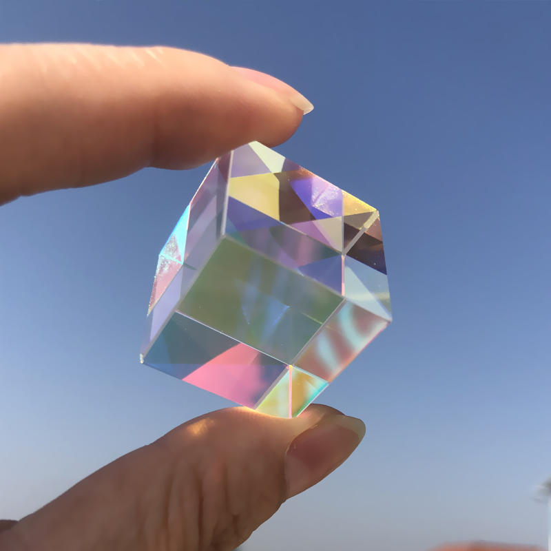 YYZLL Glasdreiecksprisma 30 x 30 x 50 MM Optisches Glasprisma Refraktorspektrum Fotografie Glasprisma Wissenschaft Experiment Physik Unterrichtszubeh/ör Spielzeuggeschenk f/ür Kinder
