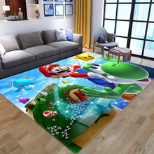 Carpets Rugs Floor-Mat Game-Area Bedroom Living-Room 3d-Printing Anime Large Kids Super-Mario