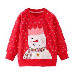 SAILEROAD 2-7лет Животное Кролик Аппликации Девушки Кофты Детская детская одежда Осень Одежда для новорожденных мальчиков Мальчики с длинным ру...