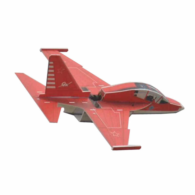 Yak130 PP 740mm Wingspan RC Airplane 30/40A 1500-2200mah Remote Control Racing Airplane Fixed Wing KIT For Children Kids Gifts